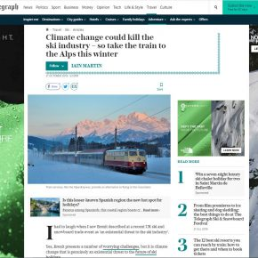 Ski Flight Free in The Telegraph
