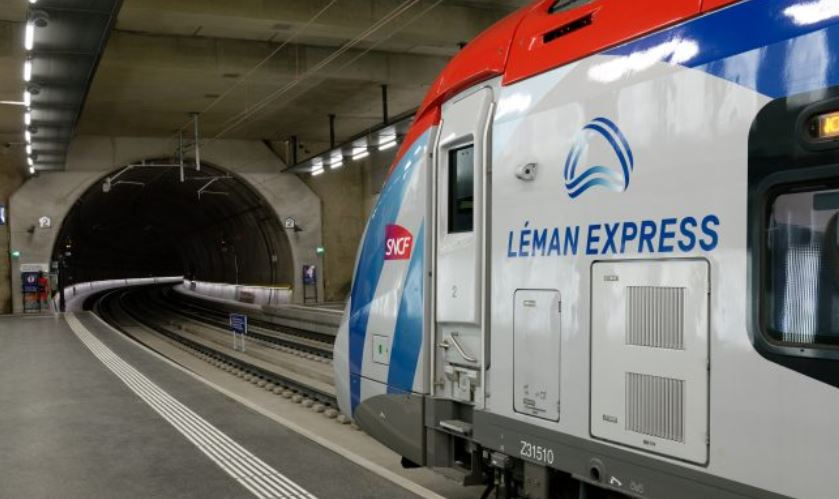 leman express train