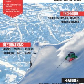 Ski Flight Free in 'Totally Snow' Magazine
