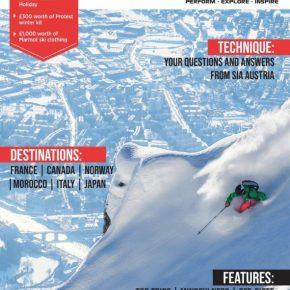 Ski Flight Free in 'Totally Snow' Magazine
