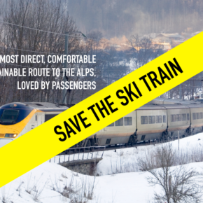Join the campaign to #SaveTheSkiTrain