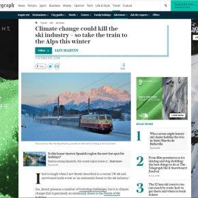 Ski Flight Free in The Telegraph
