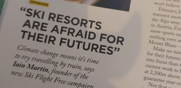"""Ski resorts are afraid for their future"""