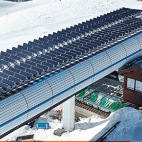 New solar panels being tested in Serre Chevalier